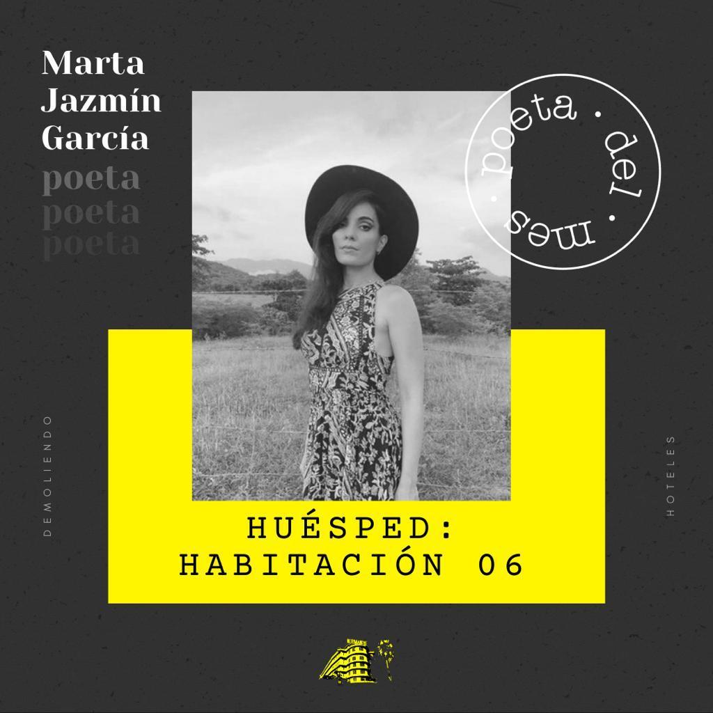 Cinco poemas de Marta Jazmín García